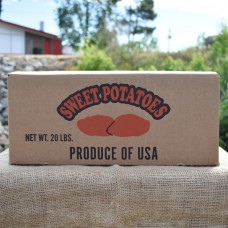 20 Pound Sweet Potato Box