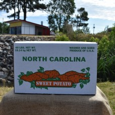 North Carolina Top for 40 Pound Sweet Potato Bottom
