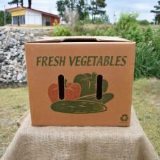 1 1/9 Bushel Greencoat Box