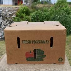 3/4 Bushel Greencoat Box