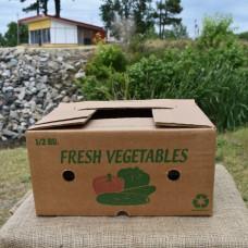 1/2 Bushel Greencoat Box