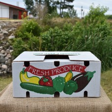 1/2 Bushel Wax Box
