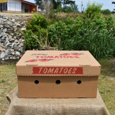 20 Pound Tomato Box
