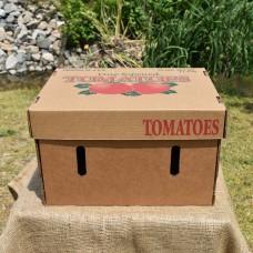 25 Pound Tomato Box