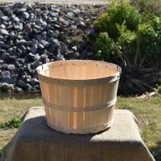 1 Bushel Wooden Basket